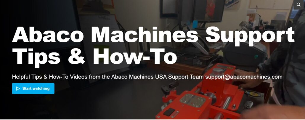 Abaco Machines Support
