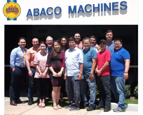 Abaco Machines Team Photo 2019